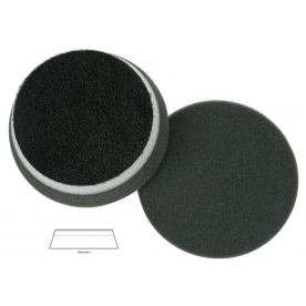 Полировальный диск поролон финишный Black finishing heavy duty orbital pad (no centre hole) 90*25mm