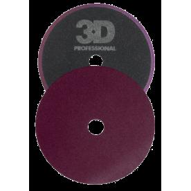 Жесткий полировальник 3D - Dk Purple Cutting pad 140mm K-55DP