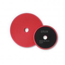 Полировальный круг средней твердости поролоновый красный комплект 80ммх2 GYEON ECCENTRIC CUT GYQ517