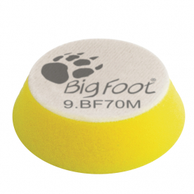 Диск полировальный поролоновый мягкий желтый 54/70 мм RUPES