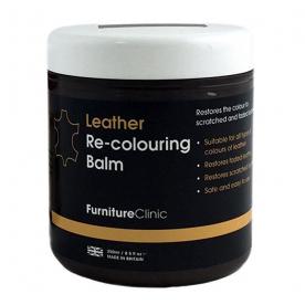 Бальзам для восстановления цвета кожи Leather Re-Colouring Balm Bordeaux темно-розовый  4LB250ML03