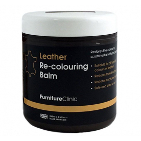 Бальзам для восстановления цвета кожи Leather Re-Colouring Balm Med Brown светло-коричневый 4LB250ML