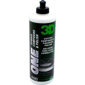 Гибридный состав для полировки 3D 0,95л 3D ONE 400OZ32