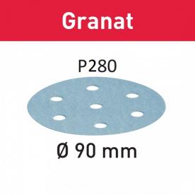 Шлифовальные круги Festool Granat STF D90/6 P280 GR/100 497850