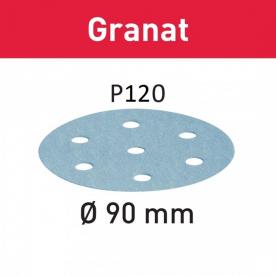 Шлифовальные круги Festool Granat STF D90/6 P120 GR/100 497367