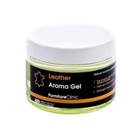 Гелевый ароматизатор с запахом элитной кожи Leather Aroma Gel LeTech 02092100