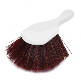 щетка с короткой ручкой Hi-Tech Short handle nylex brush brown 855