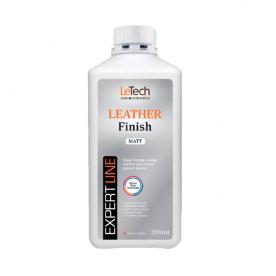 Защитный лак для кожи глянцевый LeTech Leather Finish Gloss EXPERT LINE 200 мл 4LFG200EL