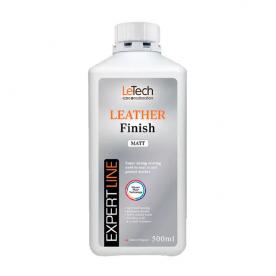 Защитный лак для кожи матовый Leather Finish Matt EXPERT LINE LeTech 500мл 4LFM500EL