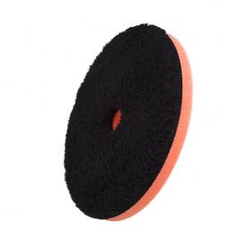 микрофибровый диск с центральным отверстием ЧЕРНЫЙ режущий FlexiPads 150 мм 1-Step