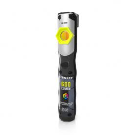 Инспекционный фонарь UNILITE CRI 96+ 600Lm 5 цвет темп+УФ 2500mAh IP65 CRI-600R