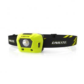 Налобный фонарь 275 Lm 1800 mAh IPX6  UNILITE HL-4R