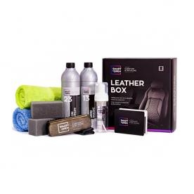 Набор для чистки и защиты кожаных изделий SmartOpen Leather Box 15LB