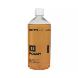 pH Нейтральный пенный автошампунь с энзимами S2 Foamy INNOVACAR 1л 79283