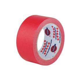 Лента маскирующая красная Eurocel 25мм х 40м MSK 96/25