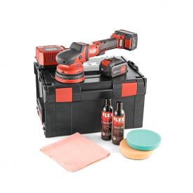 Аккумуляторная эксцентриковая полировальная машинка FLEX XCE 8 125 18.0-EC/5.0 P-Set 461245