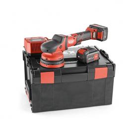 Аккумуляторная эксцентриковая полировальная машинка FLEX XCE 8 125 18.0-EC/5.0 Set 438413