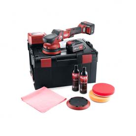Аккумуляторная эксцентриковая полировальная машинка FLEX XFE 15 150 18.0-EC/5.0 P-Set 461237