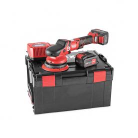 Аккумуляторная эксцентриковая полировальная машинка 18,0 В FLEX XFE 15 150 18.0-EC/5.0 Set 418099