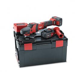 Аккумуляторная ротационная полировальная машинка FLEX PE 150 18.0-EC/5.0 Set 447153