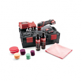 Полировальная аккумуляторная машинка Flex PXE 80 10.8-EC/2.5 P-Set 469076