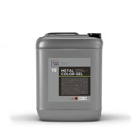 Нейтральный очиститель дисков и кузова гелевый с индикатором 19 METALCOLOR GEL SmartOpen 5л 15195