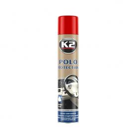 Полироль для пластика POLO PROTECTANT MAT K2 клубника аэрозоль 750мл K418TR