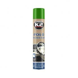 Полироль для пластика POLO PROTECTANT MAT K2 зеленый чай аэрозоль 750мл K418ZH