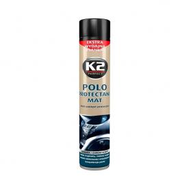 Полироль для пластика POLO PROTECTANT MAT K2 black аэрозоль 750мл K418BL