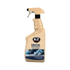 Очиститель стекол и удалитель следов насекомых NUTA ANTI-INSECT K2 спрей 770мл K117M1