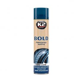 Очищение и чернение резины BOLD K2 аэрозоль 600мл K156