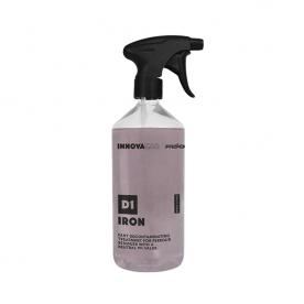 Состав для удаления металлических вкраплений и ржавчины с нейтральным pH D1 Iron INNOVACAR 500мл