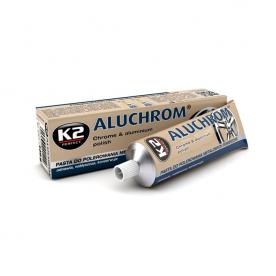 Паста для полировки металла хрома K2 Aluchrom 120гр K0031