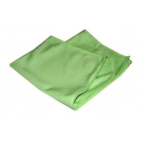 Полотенце микрофибровое для стекол 40x60см А302 Green GLASS Microfibre Towel WT-G