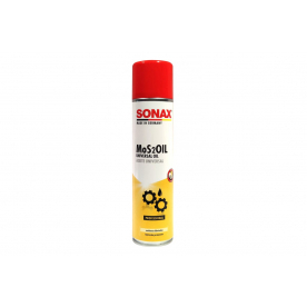 Смазка универсальная MoS2Oil NanoPro Sonax 400мл 339400