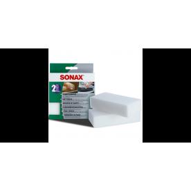 Губка для очистки пластика Sonax 416000