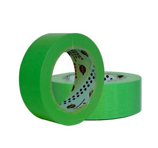 Лента маскирующая зеленая Eurosel 50 мм х 40 м 80 Со - 30 мин