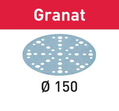 Шлифовальные круги STF D150/48 P80 GR/50 Granat