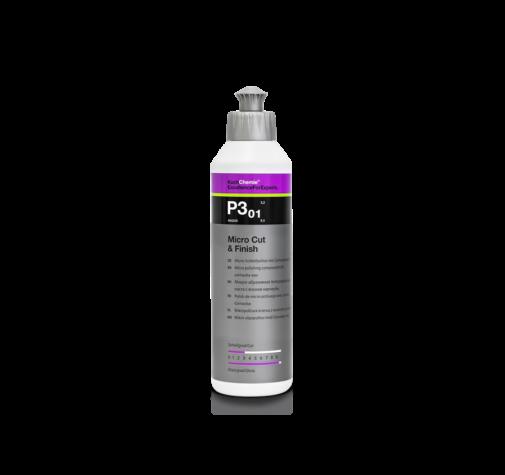 Полировальная паста с воском карнауба MICROCUT&FINISH P3.01 Koch Chemie 250мл 404250