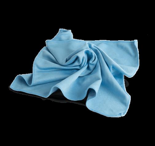 Салфетка для стекол голубая AuTech 40х40см Au-6900