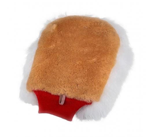 Рукавица двухсторонняя из натурального экстра днинного меха / FlexiPads NEW THE PUNK Merino Wash Mit