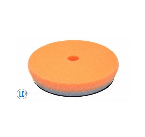 Полировальный диск поролон средне-режущий polishing heavy duty orbital pad оранжевый 155mm