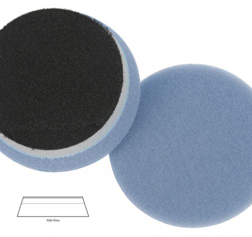 Полировальный диск поролон режущий агресивный HDO-93350 Blue HD orbitalcuting pad 89*25mm
