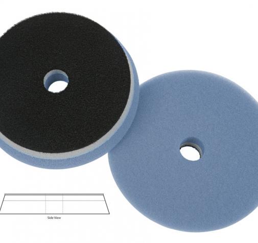 Полировальный диск поролон режущий Blue Cutting heavy duty orbital pad (with centre hole) 140*25mm