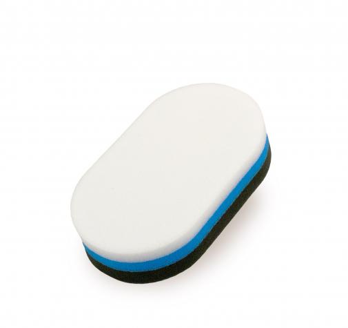 Двухсторонний ручной овальный аппликатор с жесткой и мягкой поверхностью
