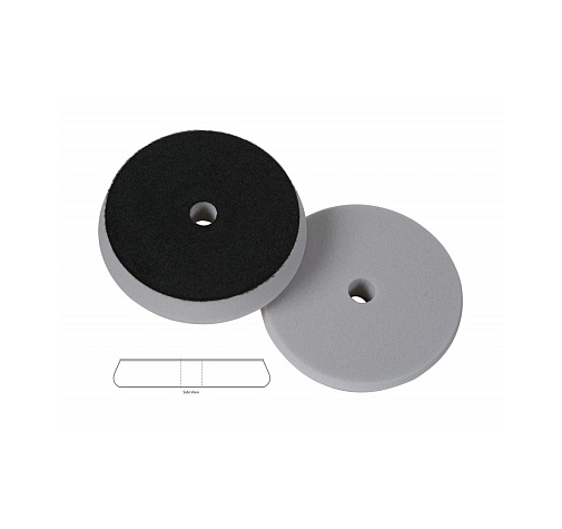 Полировальный диск поролон режущий, агрессивный 76-78350G-76 Forse disc grey hybrid foam cutting pad