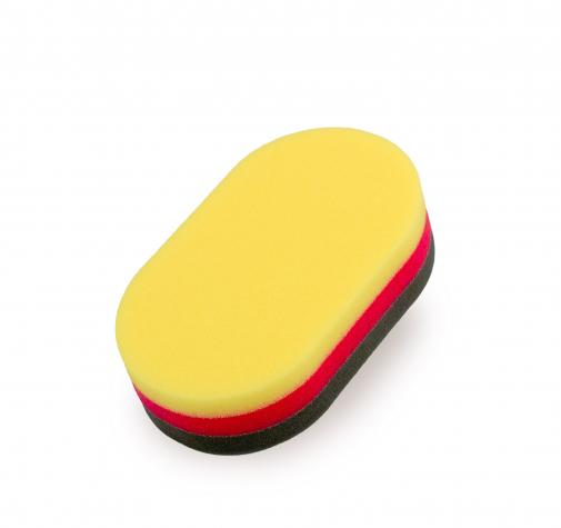 Двухсторонний ручной аппликатор для кожи и пластика, очищающая и полирующая поверхности (2 в наборе)