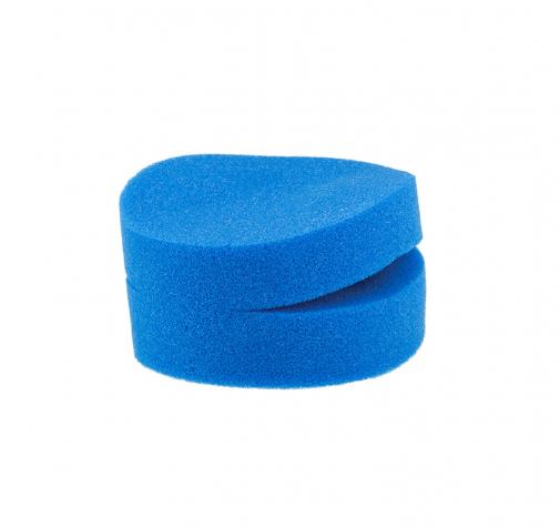 Синяя губка-шайба с прорезью (2 в наборе)