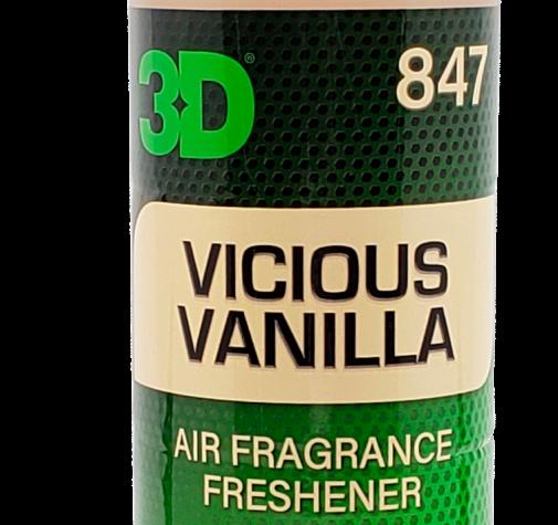 Освежитель воздуха для салона с ароматом ванили 3D (0.41 л) - Vanilla Scent 847OZ16