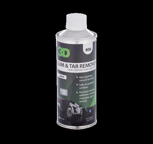 Удалитель битума смолы и скотча 3D (0,41 л) - Gum and Tar Remover 806OZ16